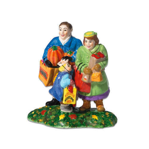 Jbigg S Little Pieces Byers Choice Carolers: Getting Candy For Halloween Department 56 Accessory
