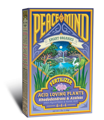 Peace of Mind Acid Loving Plants Fertilizer (6-4-4) by Fox Farm - 4lb