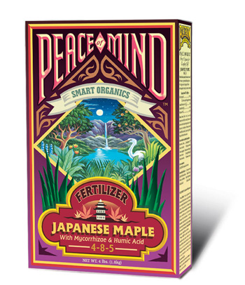 Peace of Mind Japanese Maple Fertilizer by Fox Farm (4-8-5) - 4lb