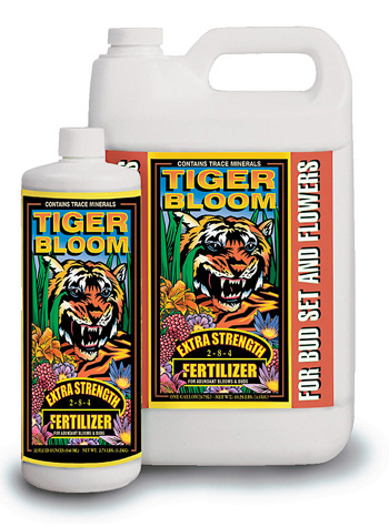 Tiger Bloom Liquid Fertilizer (2-8-4) by Fox Farm - 1 Gallon