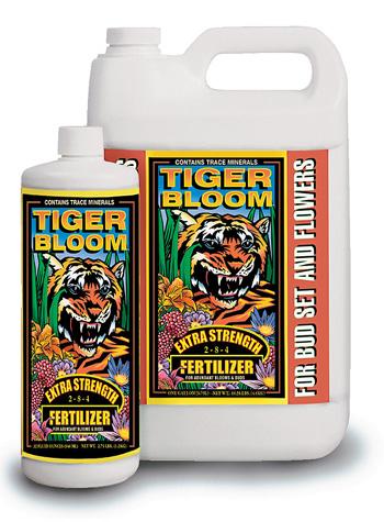 Tiger Bloom Liquid Fertilizer (2-8-4) by Fox Farm - 1 Quart