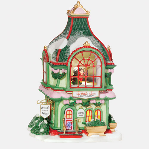 Twinkle Toes Ballet Academy North Pole Village Department 56