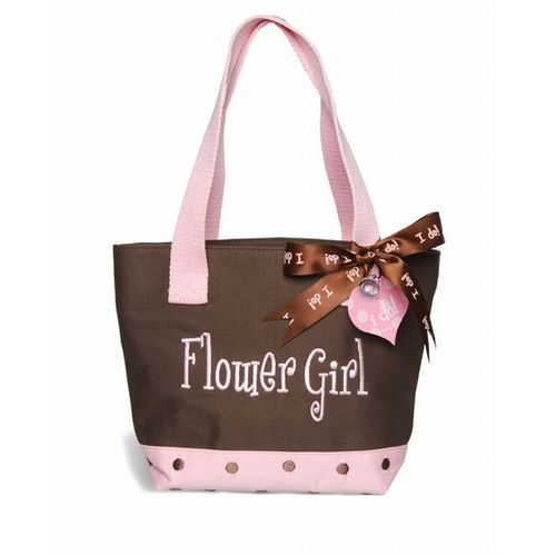 Flower Girl Tote Bag I Do Mud Pie Wedding