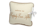 Happily Ever After Advice Pillow With Marker Wedding Mud Pie