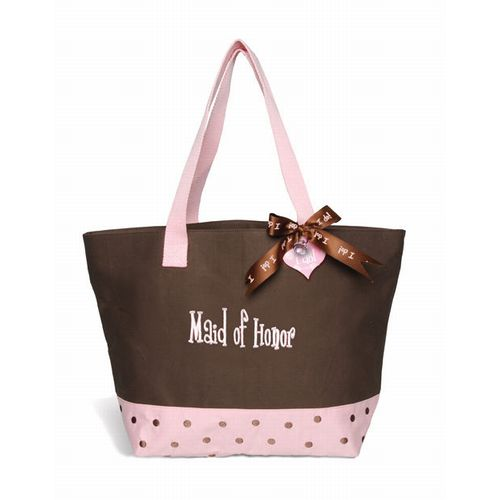 Maid of Honor Tote Bag I Do Mud Pie Wedding