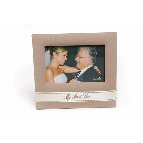 My First Love Wedding Photo Frame Father Of The Bride Mud Pie I Do