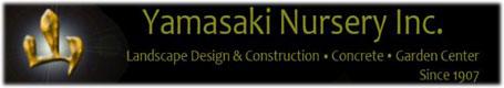 Yamasaki Nursery Auburn CA logo